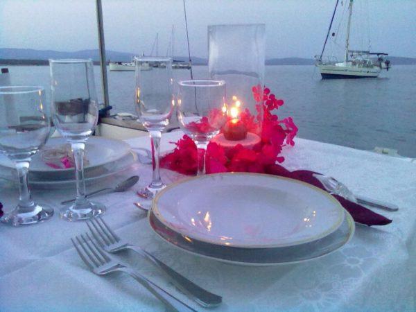 Cena romantica Lago di Como