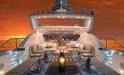 Cena romantica in barca sul Lago di Garda