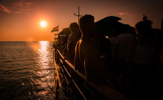 Feste in barca Lago di Como